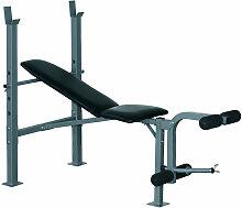 Homcom - Banc de musculation Fitness entrainement