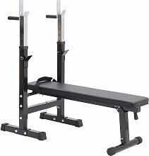 Homcom - Banc de musculation Fitness pliable
