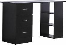 Homcom - Bureau informatique meuble de bureau 3