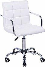 HOMCOM Chaise de Bureau Fauteuil Manager pivotant