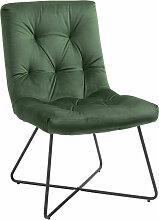 Homcom - Chaise design néo-rétro assise dossier
