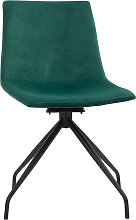 Homcom - Chaise design pivotante 360° - chaise