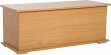 Homcom - Coffre malle de rangement coffre à