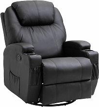 Homcom - Fauteuil de massage relaxation