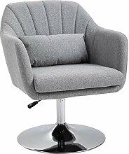 HOMCOM Fauteuil Lounge Design Grand Confort
