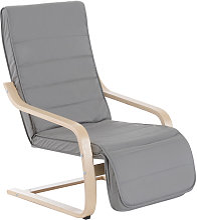 Homcom - Fauteuil luxe confort et relaxation avec