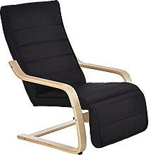 HOMCOM Fauteuil Luxe Confort et Relaxation avec