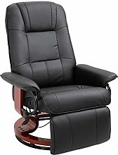 HOMCOM Fauteuil Relax inclinable Repose-Pieds