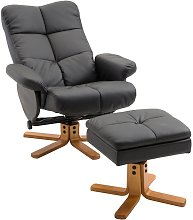 Homcom - Fauteuil relax inclinable style