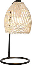 Homcom - Lampe de table arquée - lampe à poser