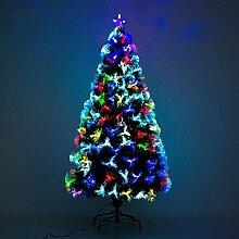 HOMCOM Sapin de Noël Artificiel Arbre de Noël