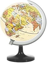 Home Carte du Monde Globe, Multicolore, 11,5x