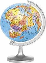 Home Carte du Monde Globe, Multicolore, 16X