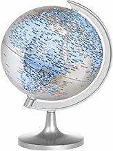 Home Carte du Monde Globe, Plastique, Multicolore,
