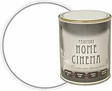 HOME CINEMA Peinture Cinema Murale pour Projeter