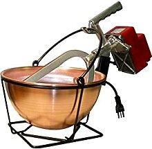 Home Marmite électrique en cuivre pour Polenta