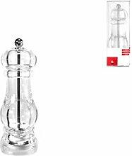Home Moulin à sel, 16cm, Plastique, Transparen