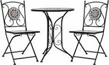 Home® Set bistrot 3 pcs Design - Mobilier de