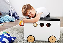 home24 Coffre à jouets Jim