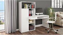 home24 Combinaison bureau étagère Cople