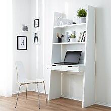 home24 Combinaison bureau étagère Verno