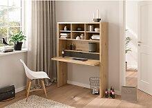 home24 Combinaison bureau étagère Volet