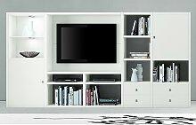 home24 Ensemble mural TV Emporior I