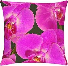 home24 Housse de coussins Orchidee
