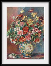home24 Impression art bouquet de fleurs I