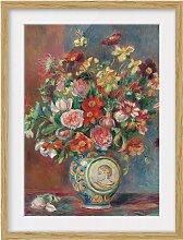 home24 Impression art bouquet de fleurs IV