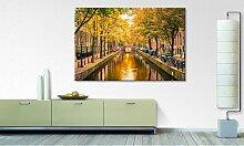 home24 Impression sur toile Autumn In Amsterdam