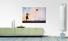home24 Impression sur toile Banksy No.14