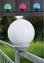 home24 Lampe solaire LED variateur de couleurs