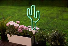 home24 Lampe solaire Sunshine Cactus