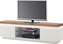 home24 Meuble TV Roble I (avec éclairage)