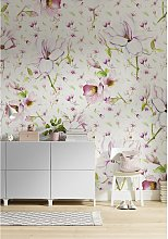 home24 Papier peint intissé Magnolia