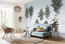home24 Papier peint intissé Pines
