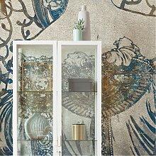 home24 Papier peint intissé Porcelaine