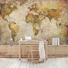 home24 Papier peint planisphère