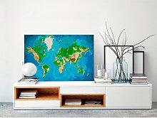 home24 Peinture par numéro - Carte du monde I