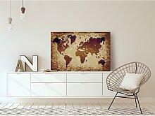home24 Peinture par numéro - Carte du monde III