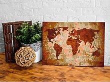 home24 Peinture par numéro - Carte du monde IV