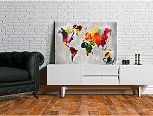 home24 Peinture par numéro - Carte du monde VII