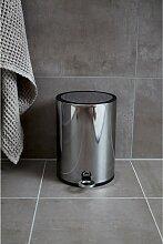 home24 Poubelle de salle de bain à pédale Monza
