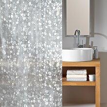 home24 Rideau de douche Cristal