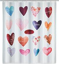 home24 Rideau de douche Love