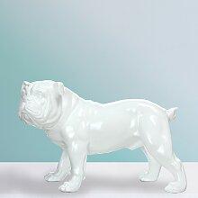 home24 Statuette Bulldog
