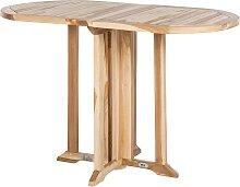 home24 Table de balcon Teakline Classic