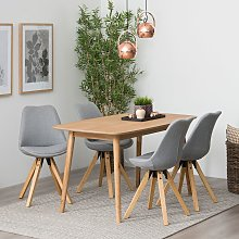 home24 Table de salle à manger Komoro