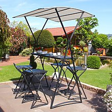 home24 Table haute de jardin Macapo